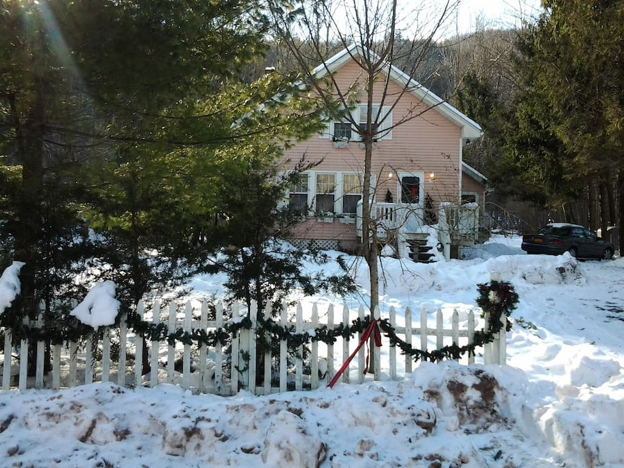 Christmas in a Gingerbread house?