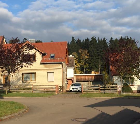 Gemütliches Apartment Nähe Oberhof - Crawinkel - Huis