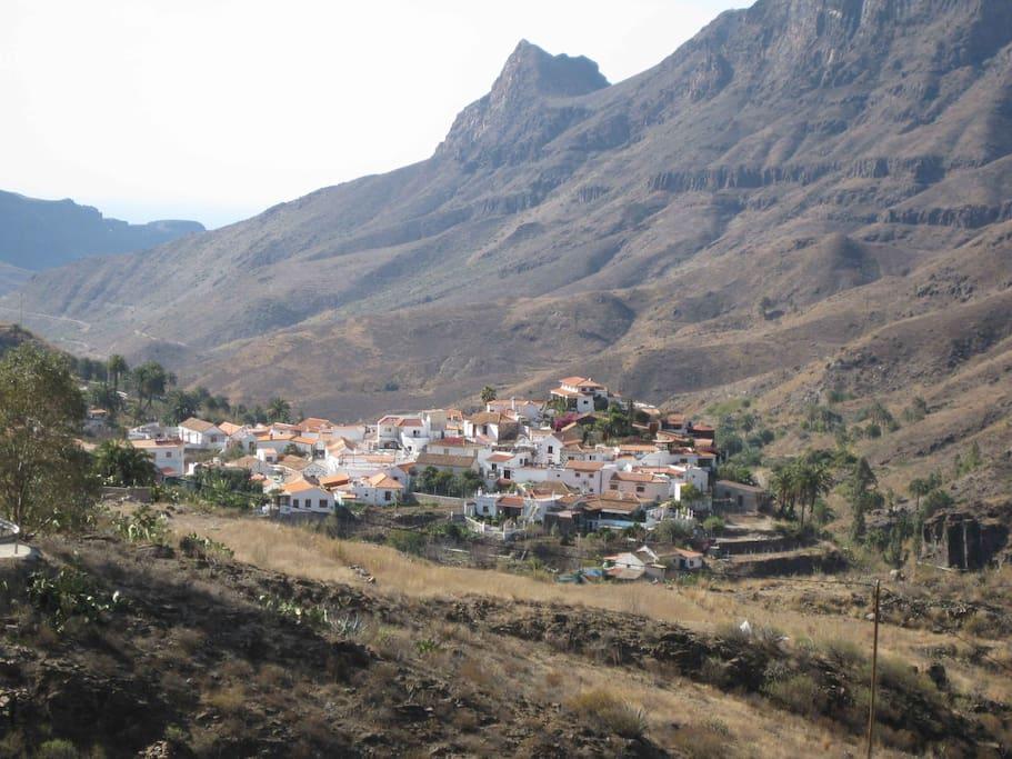 Fataga, Valley of 1000 Palms