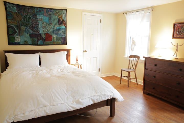 Room + nature in Princeton