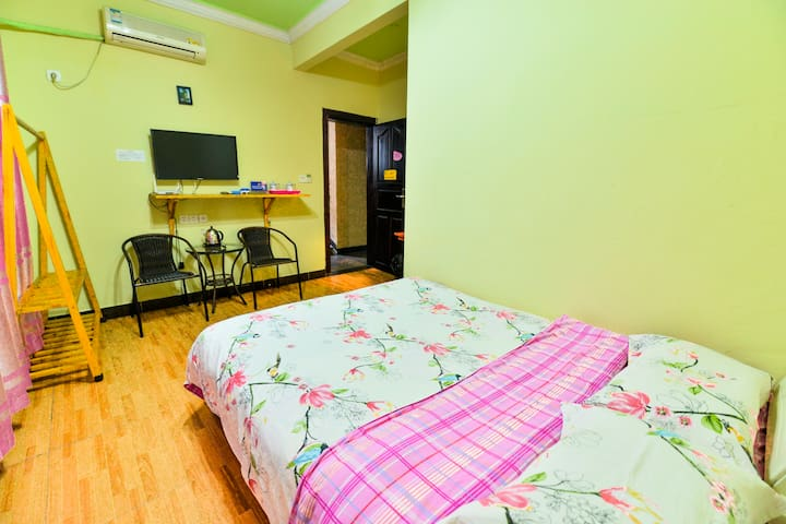 Double Bed Room-A Godot Hostel