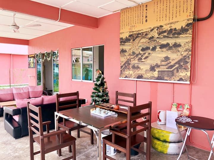 仙本那侨之家整栋别墅_独立卫生间_可住15人提供免费早餐_餐厅免费使用