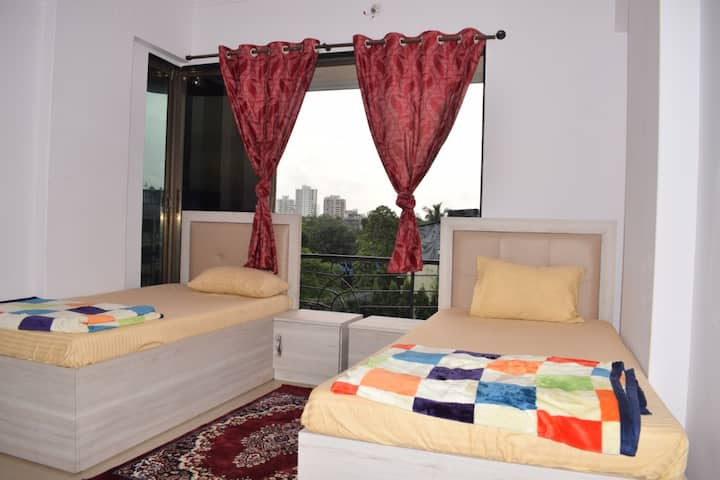 Superior Single Bed in Twin AC Dorm