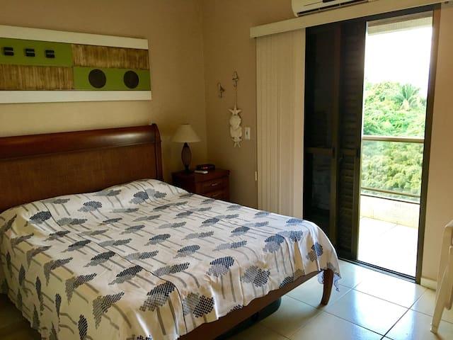 suite casal com varanda