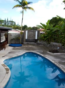 Pool, Spa, 2 Resort Style in Rooms - Pāhoa - Ház