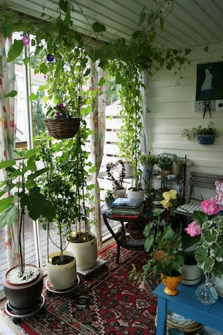 Lovely garden close to Tyresta Nationalpark - Haninge Municipality