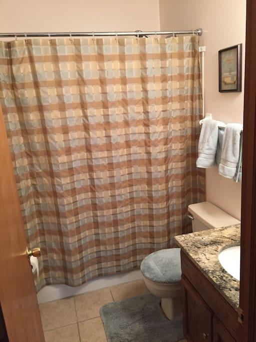 Full bath - bathtub equipped