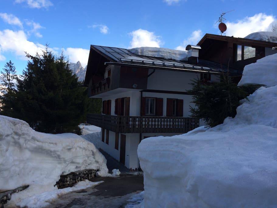 vista in inverno