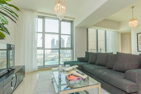 3BR with a Burj Khalifa view #25,Downtown - Дубаи