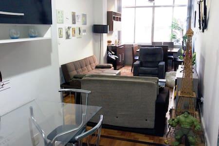 Quarto para até quatro pessoas no Flamengo - 里約熱內盧 - 公寓