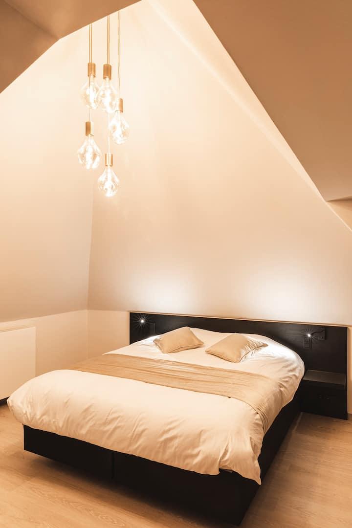 Moderne hotelkamer in Zedelgem (nabij Brugge)