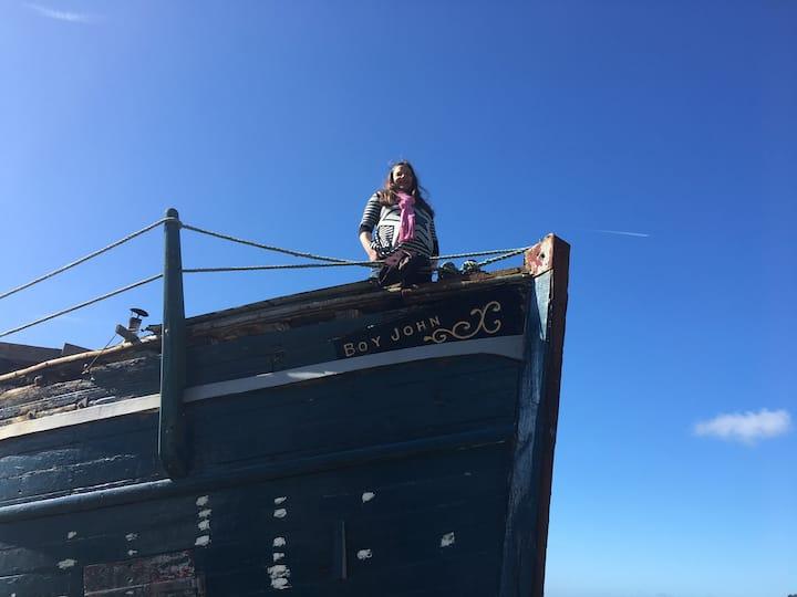 The Boy John fishing boat