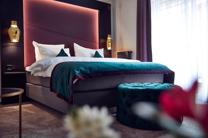 Deluxe Doppelzimmer im ONNO Hotel by Norman