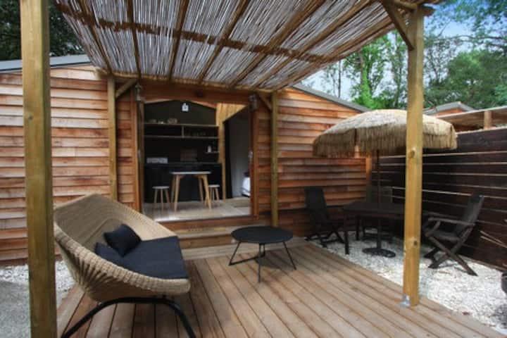 Cottage cocooning dans résidence boisée