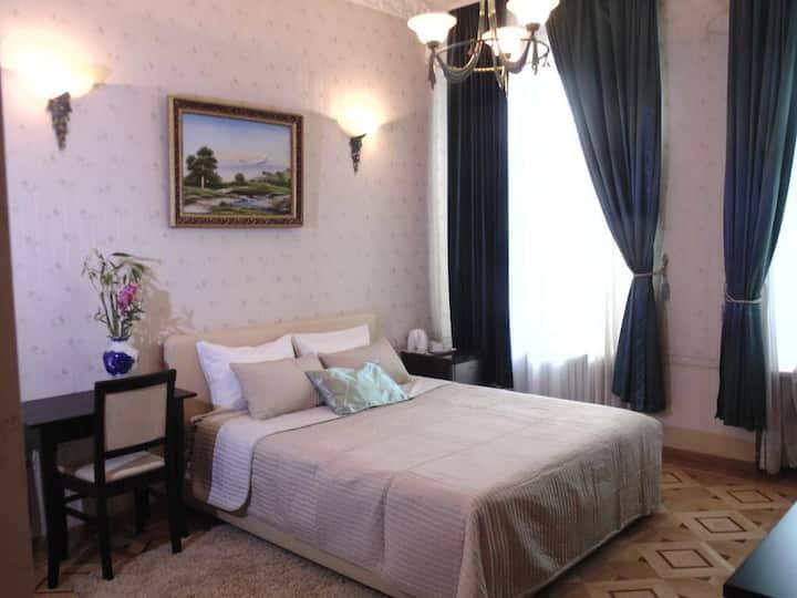 Просторная светлая комната в центре Москвы