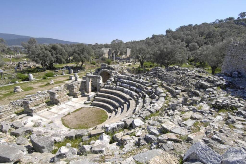 Interior of bouleuterion