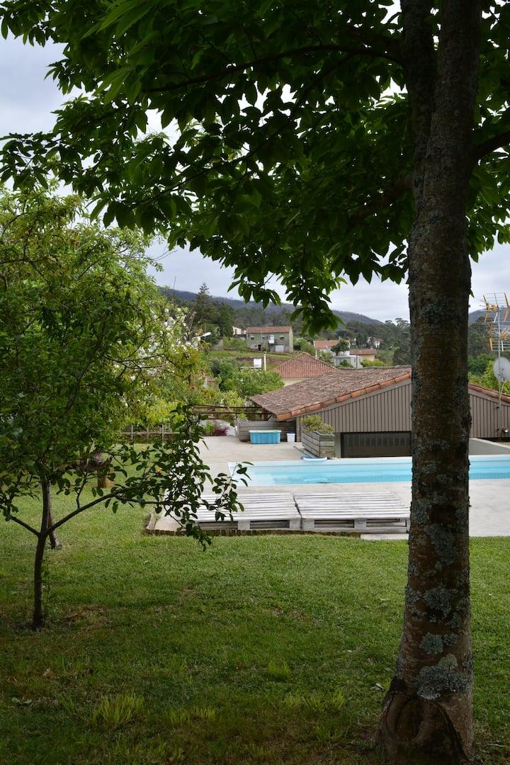 """Pool House"" in Caminha (Venade village)"
