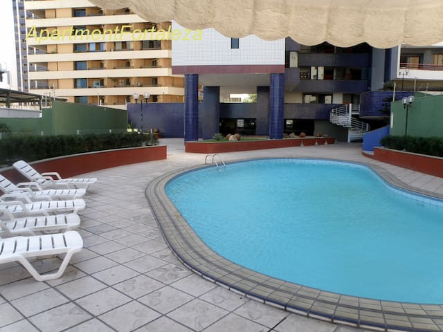 Iracema Apto (4 p) 70 m2 (2 bedrooms,2 bathrooms)