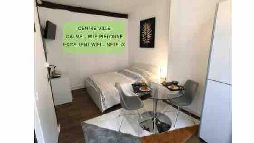Joli studio 20m² au cœur de Poitiers