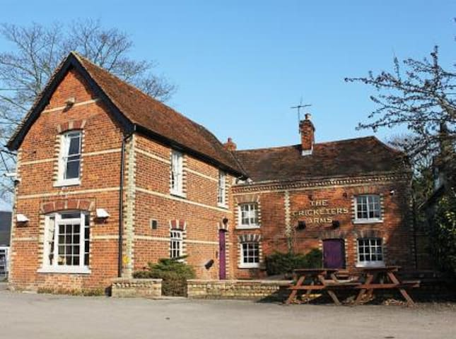 The Cricketers Arms, Rickling Green