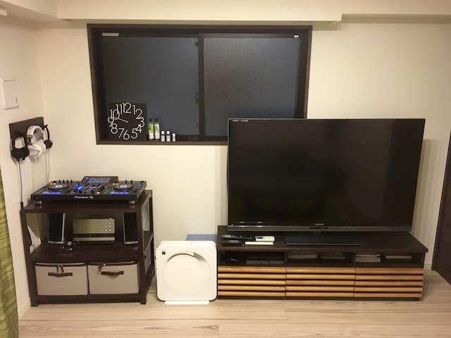 DJ Booth♪Best Apartment around Tokyo Tower - Minato-ku - Byt