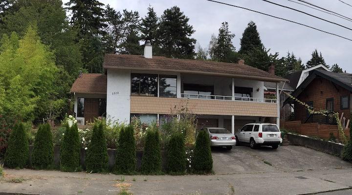 Seattle private studio apt, kitchen & bath Ballard