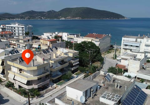 Nea Peramos KAVALA luxurius home for two couples