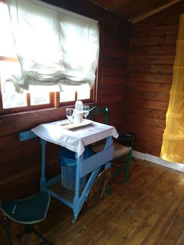 Cabaña de madera ideal para parejas. - Cañada