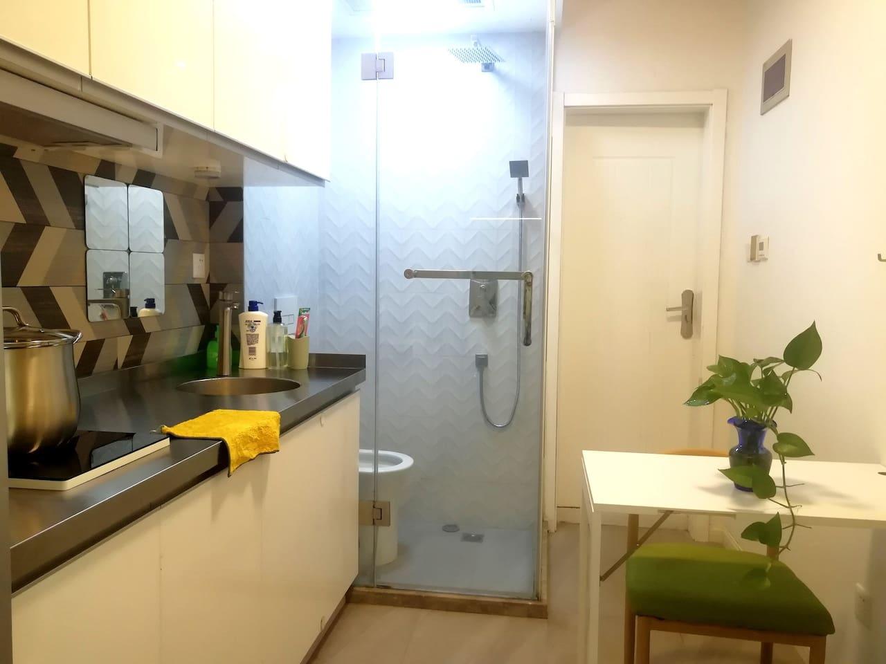 厨房➕客厅➕卫生间