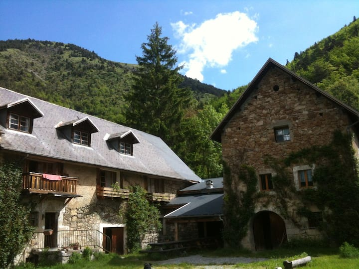 Rustic B&B in the french Alps