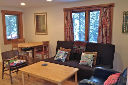 Cozy 1 Bdrm - walk to Tahoe City