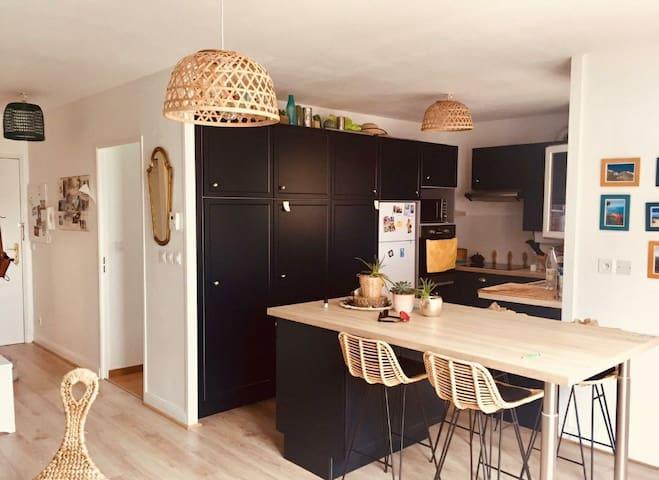 Appartement à Tarnos proche plage 2 à 4 personnes