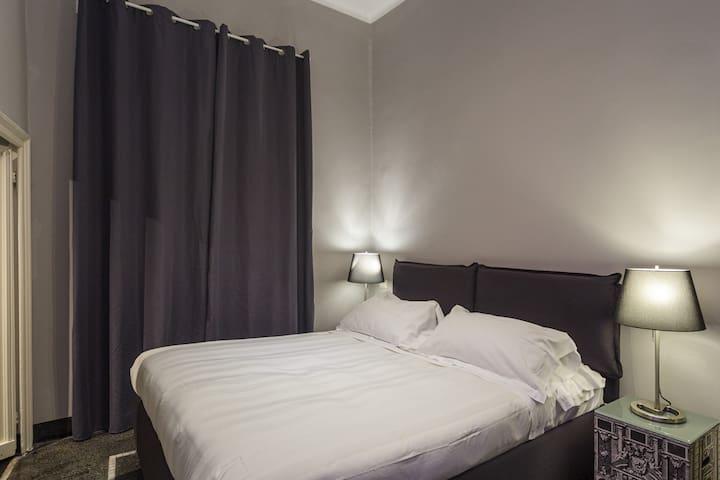 Appartamento 13 Porto Antico Suite Genova - Panoramica zona notte