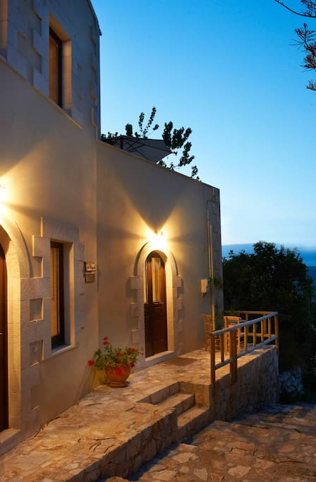 Villa Erontas, a totally independent villa of 140 sq.meters