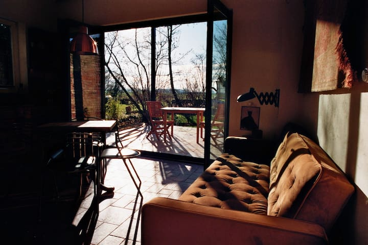 Küche (mit Terrasse)