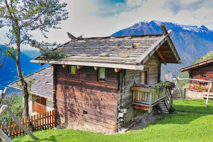 Charmantes Apartment Kornkammer Lodge mit Bergblick, WLAN und Garten; Parkplätze vorhanden