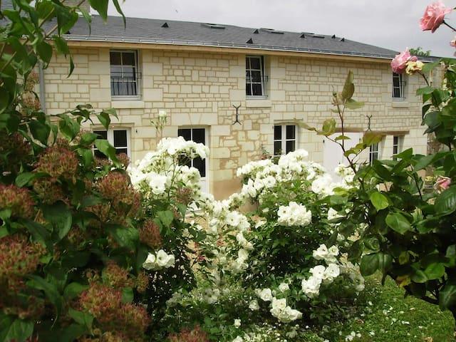 4 STAR GITE LA SAMSONELLE IN FONTEVRAUD L'ABBAYE - Fontevraud-l'Abbaye - House