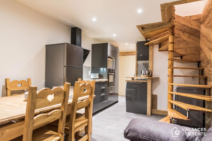 Val Thorens, Olympiades 708, ski-in / ski-out accommodation, up to 10 peopl - Val Thorens - Appartement