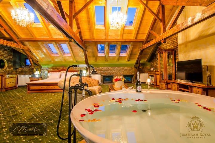 JMR Royal apartments-Monalisa with private sauna
