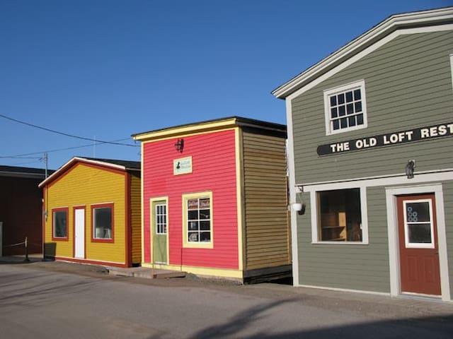 Mainstreet Woody Point, just around the corner