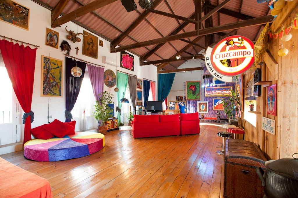 Enjoy a funny amazing loft 4 you loft 39 s te huur in - Loft en sevilla ...