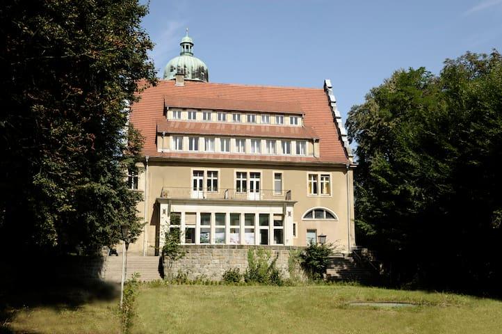 Doppelzimmer mit Blick ins Grüne - Stolpen - Castle