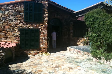 Beautiful Stone House near Aracena - el peralejo