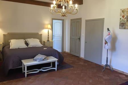Chambre Cyprès au Château de Saint Félix - Saint-Félix-de-Pallières