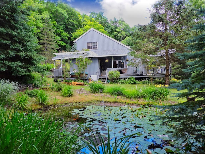 Catskills 3BR+2BA, HotTub, Privacy & 5min To Town