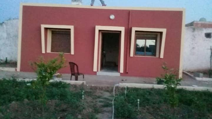 Maison de campagne chez l habitant au Maroc.