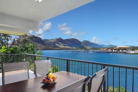 OCEAN VIEW CLIFF APT W/ MARRIOTT USE INCLUDED - Lihue - Osakehuoneisto