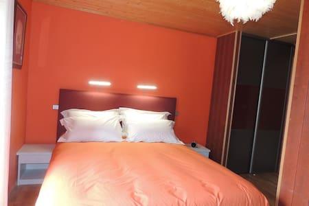 chambres d'hotes : chez nadine... chambre Paturage - La Godivelle