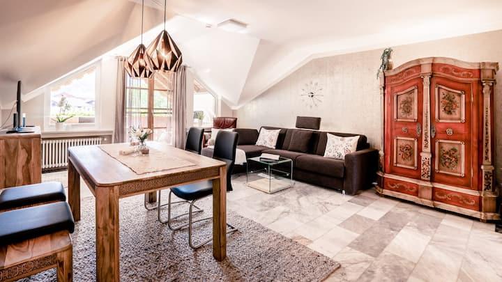 "Ferienhaus Bauer in Piding Whg. ""Schlossblick"""