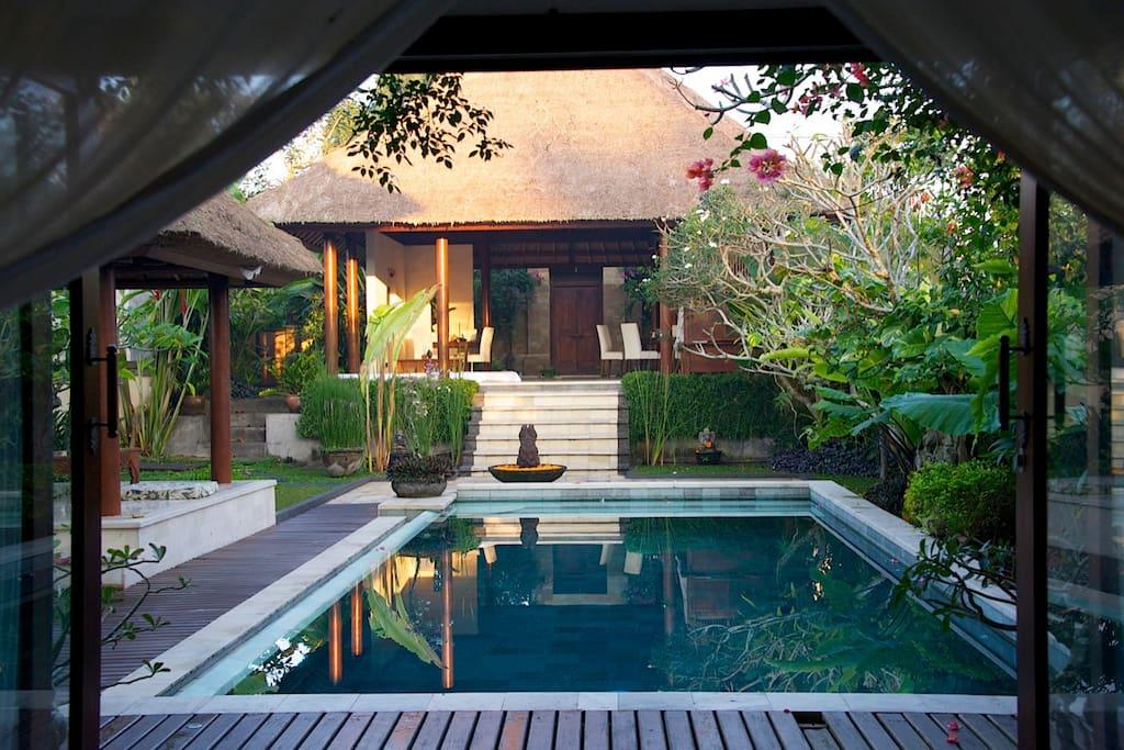 Beautiful villa and pool
